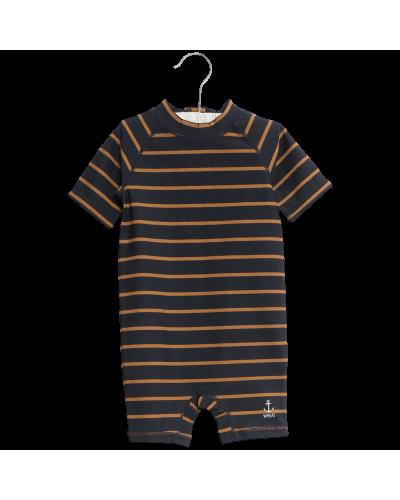 Swimsuit Cas Midnight Blue Stripes