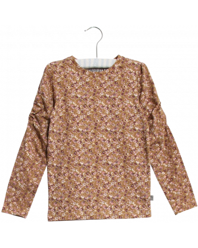 T-shirt Clara Caramel Flowers