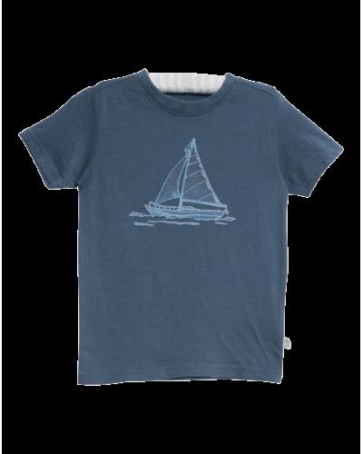 Wheat T-shirt Fishingboat Bering Sea
