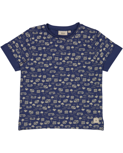 T-Shirt Hans Blue Surf