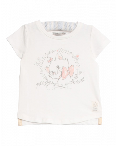 Wheat T-shirt Marie Fabulous Ivory