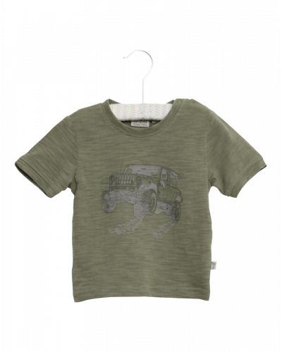 Wheat T-shirt Off Road Agave Green