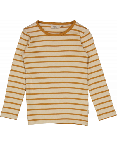Bluse Striped Almond