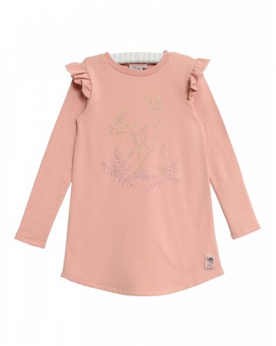 Wheat Disney Kjole Bambi Misty Rose