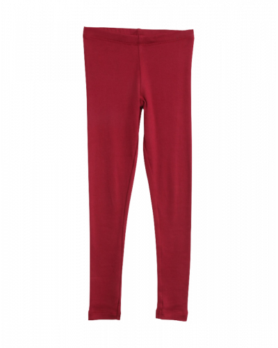 Wheat Rib Leggings Dark Berry