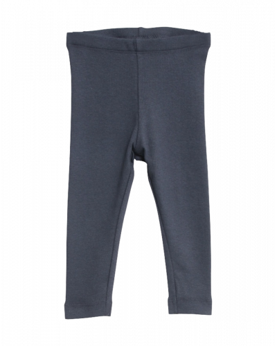Wheat Rib Leggings Greyblue