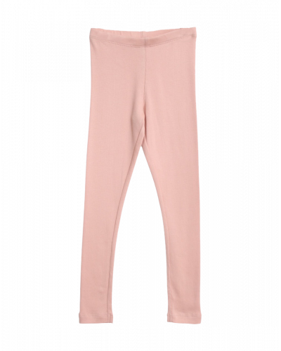 Wheat Rib Leggings Misty Rose