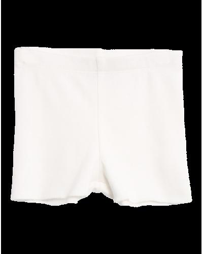Rib Shorts Ivory