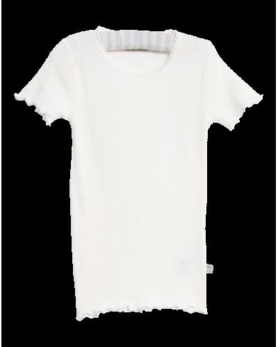 Wheat Rib T-shirt Ivory