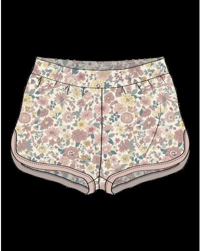 Shorts Edda Ivory
