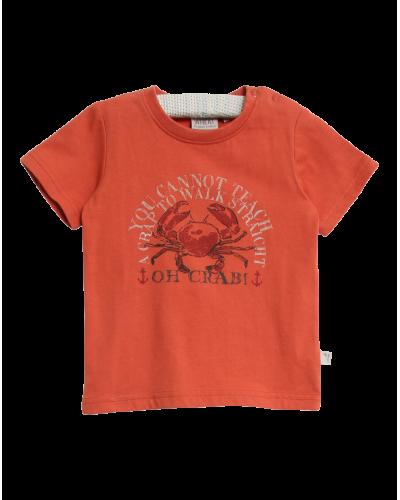 T-shirt Crab Wood