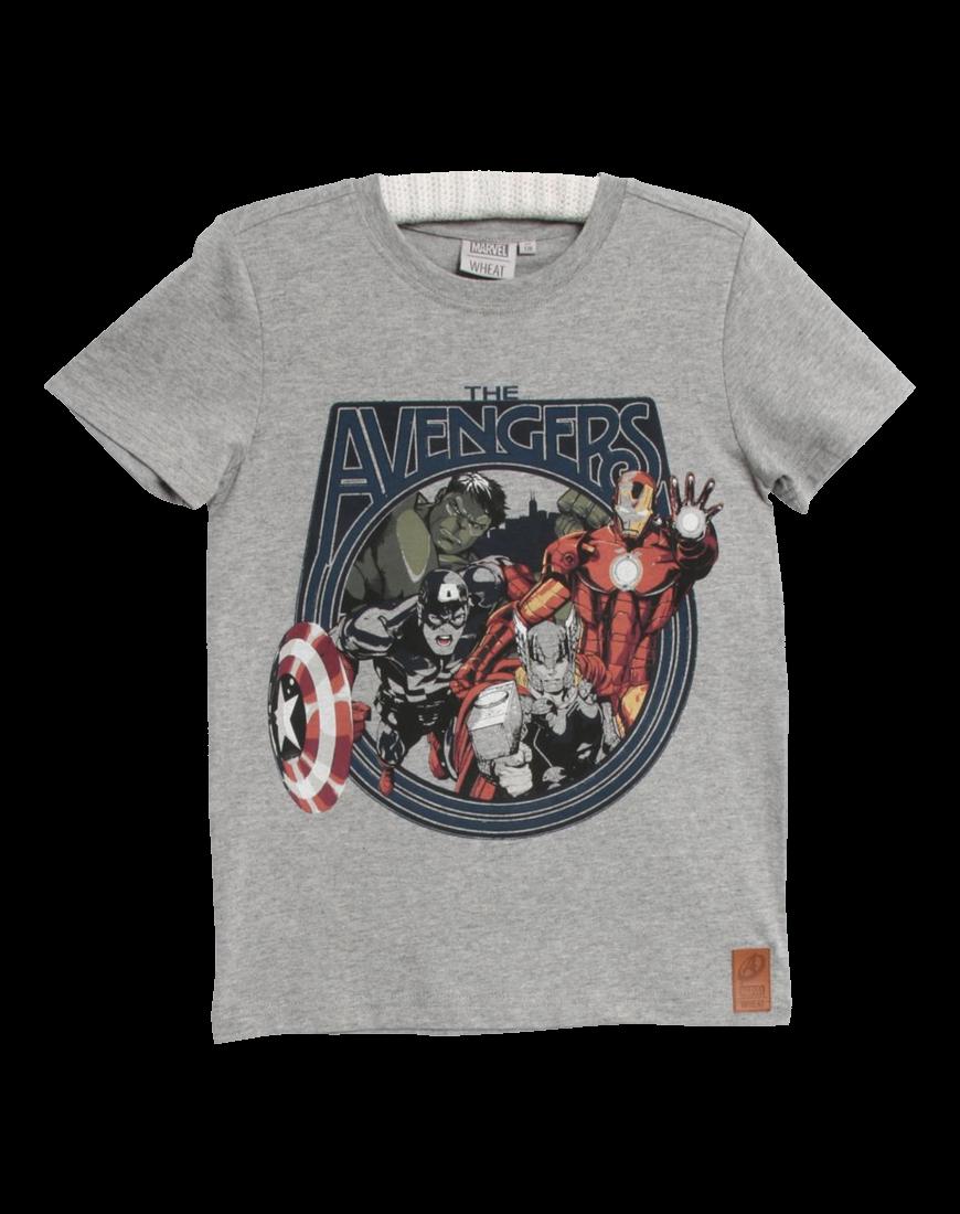 T-shirt The Avengers Grey Melange