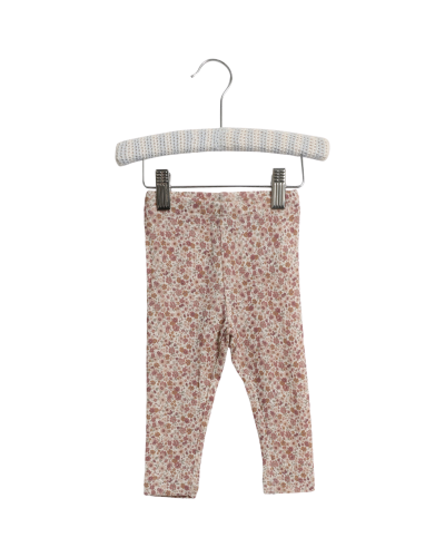 Uld Leggings Flowers