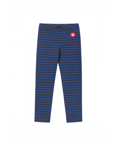 Ira Kids Leggings Navy/blue stripes