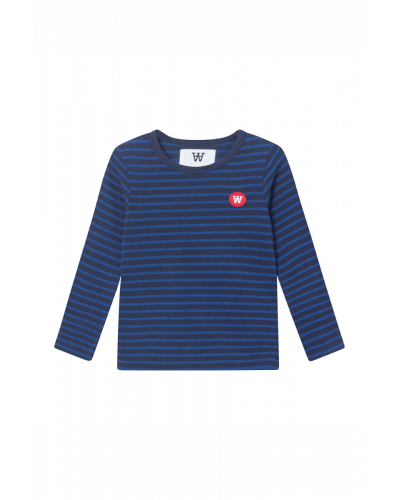 Kim Kids Long Sleeve Navy/blue Stripes