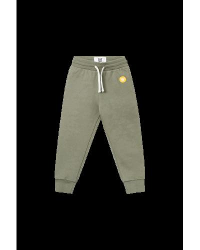 Ran Kids Trousers Army Green