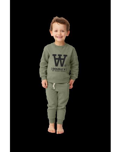 Rod Kids Sweatshirt Army Green