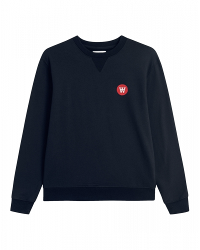 Wood Wood Rod Sweatshirt Navy